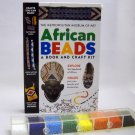African Beads Book and Craft kit by Elizabeth Bigham and Janet Coles (1999)