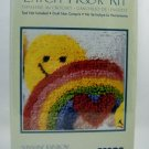 Latch Hook Kit WonderArt by Caron (12&quot; x 12&quot;) - Sunshine Rainbow P504
