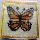 Latch Hook Kit by Rainbow Mills, Inc. (1985) - Monarch Butterfly 100-20