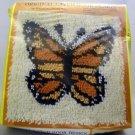 Latch Hook Kit by Rainbow Mills, Inc. (1985) - Monarch Butterfly 100-20