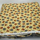 2 yds fabric from Cranston Print Works Co. - A V.I.P. Print