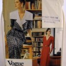 Pattern 7750 from Vogue Career (1990) - Easy Mock Wrap Dress size 6-8-10