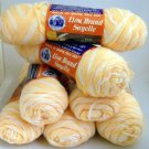 Lion Brand Sayelle Ombre Yarn 3 oz (85 g)skein - Lot of 7 skeins color 261 Peach