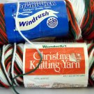 Christmas Ombre Yarn - Lot of 3 Skeins