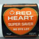 Red Heart Super Saver Yarn from Coats & Clark 8 oz (225 g) skein - color white 311