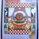Holiday Simplicities Counted Cross Stitch Kit by Janlynn (2001 Made in USA ) - Window Teddy #140-238