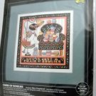 "Dimensions Counted Cross Stitch Kit (1993 Made in USA) - ""Chair of Bowlies"" 3752"