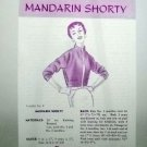 Vintage Leaflet No. 8 Oregon Worsted Co. - Mandarin Shorty