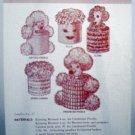 Vintage Leaflet No. 17 Oregon Worsted Co. - Tissue Toppers
