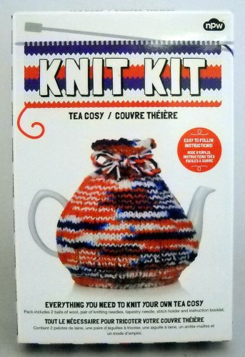 npw Tea Cosy Knit Kit - Knit Your Own Tea Cosy
