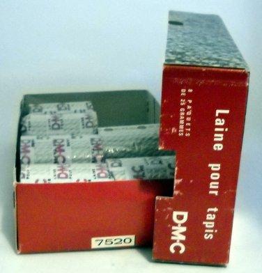 DMC Wool Pre-Cut Rug Yarn -  5+  rounds color 7520 beige grey, lot 41795