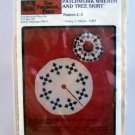 That Patchwork Place Patchwork Wreath and Tree Skirt pattern (1983) - Pattern C-3