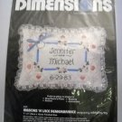 Dimensions Candlewicking Kit Ribbons 'N Lace Remembrance  #4101 (1983)