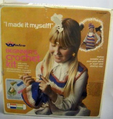 "Walco ""I made it myself!"" beginner's crochet kit - No. 7912"