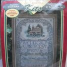 "Just Cross Stitch Counted Cross Stitch Kit (Made in USA) - ""English Cottage Sampler"" #41021"