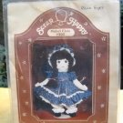 """Sewing Kit for an approx 18"""" doll  with clothes patterns from Scrap Happy (1984)"""