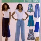 Pattern 3793 from McCall's (2007) Size H5 (6-8-10-12-14) - Misses' knit skirt, pants,or shorts