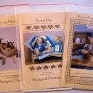 Three Farmyard Creations Bear and Bunny Patterns