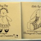 "Two Farmyard Creations Minature 3-1/2"" Patterns - Little Sprout and Rag Top"