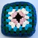 """6-1/2"""" hand crocheted squares - Lot of 13"""