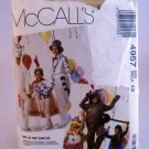McCall's Pattern 4957 - (1990)  Circus Costumes - Size 4,6