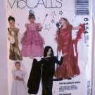 McCall's Costumes Pattern 6154 - (1992)  - Size girls' 7