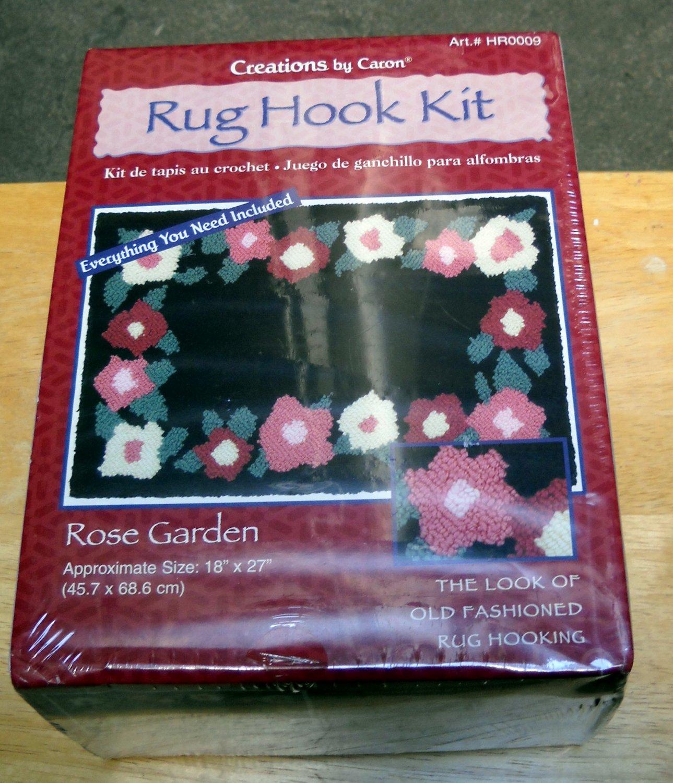 Rug Hook Kit by Caron - Rose Garden HR0009
