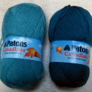 Patons Canadiana 100% acrylic -  2 skeins of assorted colors