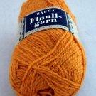 Finullgarn by Rauma 2 ply 50 g 176 m balls  - 1 ball color 461 pumpkin