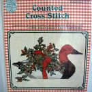 Janlynn by Gloria & Pat Counted Cross Stitch Kit Red Headed Duck #59-2 New 12 X 9