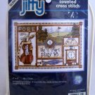 Sunset Jiffy Counted Cross Stitch Kit  - 16721 Golfer's Motto