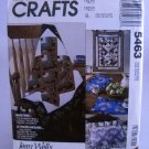 McCall's Crafts Pattern 5463 - (1991)  - Beginner's Quilting Package