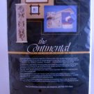 "15 count cross stitch fabric Craft World the Continental Collection 1 tablerunner 12"" x 36"""