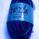 Reynolds Swizzle 3.53 oz.,(100 g)fingering 4 ply color blue 4003
