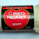 Red Heart Sport Yarn 2.5 oz (70 g) 3 ply skein - color 4 off white