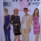 New Look pattern 6678 Size (A 8-18) - Easy Women's jacket,dress,top,pants