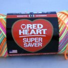 Red Heart Super Saver Yarn from Coats & Clark 5 oz (141 g) skein - clr Day Glow 3934