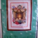 Eva Rosenstand Clara Waever Counted Cross Stitch Kit - Children by the fireside 14-138