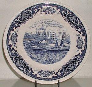 Vintage Plate by Double Phoenix - B0036