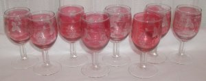 Vintage Wine Glasses - M0018