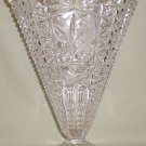 Hofbauer Byrde Crystal Large Fan Vase - CB0019