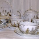 Kutani Lithophane Tea Set - L0056