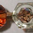 Vintage Hat Pin Amber - M0040