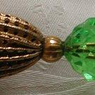 Vintage Gold Filigree Hat Pin - M0042