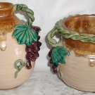 Unique Grape Decorated  Pots - CB0028