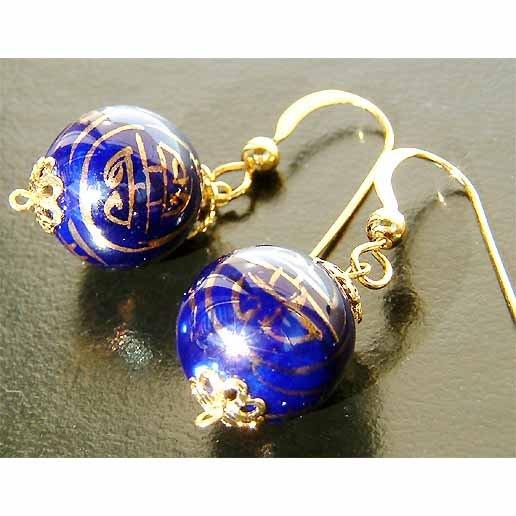 Ancient Treasure LONG LIFE 22K Gold Vermeil Earrings