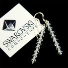 Swarovski Cyrstal Bridal Dangle Earrings
