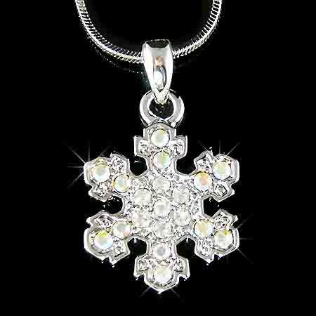 Christmas MUST-HAVE! Snowflake Swarovski Crystal Necklace
