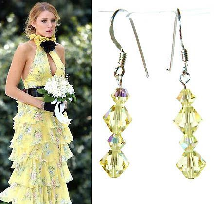 Jonquil Bridal Swarovski Crystal Sterling Silver Earrings