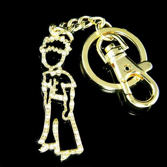 The Little Prince Le Petit Prince Swarovski Crystal Key Chain